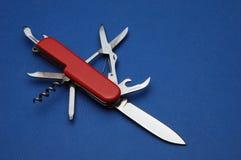 Het mes van de zak Stock Afbeeldingen