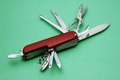Het mes van de zak Stock Fotografie