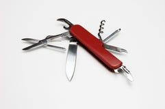 Het mes van de zak Stock Foto