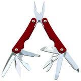 Het mes van de zak. royalty-vrije illustratie