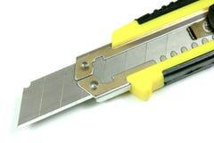 Het mes van het bureau, close-up Stock Fotografie
