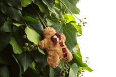 Het met de hand gemaakte stuk speelgoed van de peperkoekmens Royalty-vrije Stock Fotografie