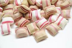 Het met de hand gemaakte suikergoed van de Pepermunt. Stock Fotografie