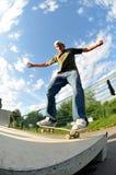 Het met een skateboard rijden Royalty-vrije Stock Foto's