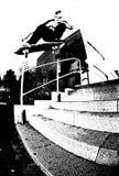 Het met een skateboard rijden Royalty-vrije Stock Afbeelding