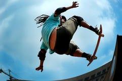 Het met een skateboard rijden Royalty-vrije Stock Foto