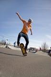 Het met een skateboard rijden van Trucs Royalty-vrije Stock Afbeeldingen