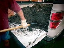 Het met mulch bedekken Stock Fotografie