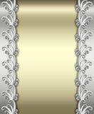 Het metaal Frame van het Art deco Stock Afbeelding