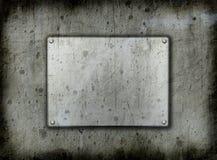 Het metaal van Grunge backgrounddd Royalty-vrije Stock Foto's