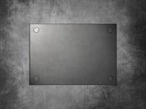 Het metaal van het aanplakbord Stock Afbeeldingen