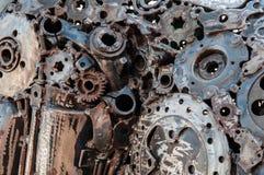 Het metaalachtergrond van de lassennaad Stock Foto