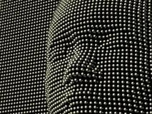 Het metaalmasker van het gezicht Royalty-vrije Stock Foto's