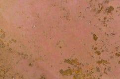 Het metaaltextuur van de roest ruwe oppervlakte royalty-vrije stock foto