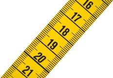 Het meten van band 2 royalty-vrije stock afbeeldingen