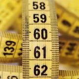 Het meten van band Royalty-vrije Stock Foto