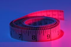 Het meten van band Royalty-vrije Stock Afbeelding