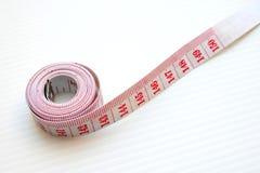 Het meten van band Stock Foto's