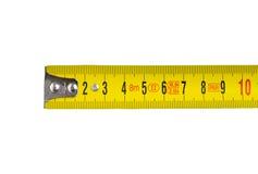 Het meten van band 8 stock afbeelding