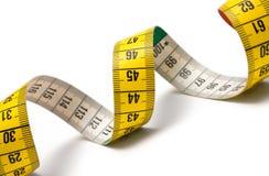 Het meten van de Spiraal van de Band Royalty-vrije Stock Foto's