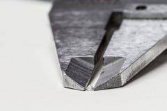 Het meten van Diamant Stock Foto