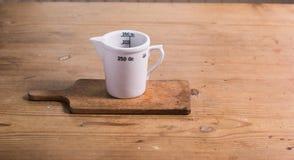 Het meten van glas Stock Afbeelding