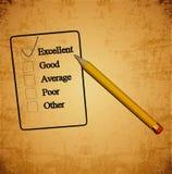 Het meten van prestaties Stock Afbeelding