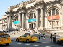 Het Metropolitaanse Museum van Kunst in New York stock fotografie