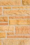 Het Metselwerk van de steen - verticaal Stock Foto