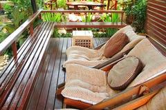 Het meubilair van de tuin Royalty-vrije Stock Foto's