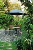 Het meubilair van de tuin stock fotografie