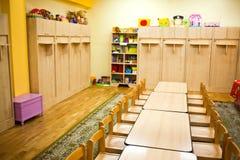 Het meubilair van het klaslokaal Stock Foto's