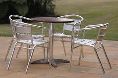 Het meubilair van het terras Stock Afbeelding