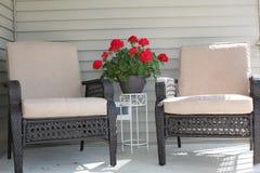 Het meubilair van het terras Royalty-vrije Stock Afbeelding