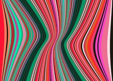 Het Mexicaanse Algemene Vectorpatroon van de Strepen multikleur Typische kleurrijke geweven stof van Midden-Amerika vector illustratie