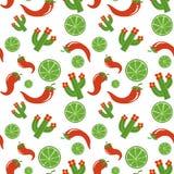 Het Mexicaanse ontwerp van de patroon vectorillustratie