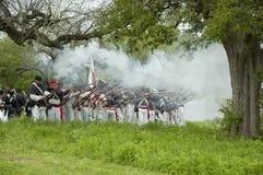 Het Mexicaanse Salvo van de Infanterie royalty-vrije stock afbeeldingen