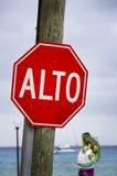 Het Mexicaanse Teken van het Einde Stock Foto