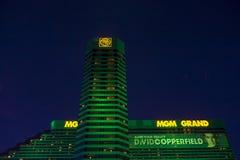 Het MGM-hotel in Las Vegas Royalty-vrije Stock Afbeeldingen
