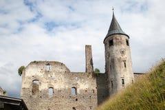 Het middeleeuwse Bisschoppelijke Kasteel van Haapsalu, Estland Royalty-vrije Stock Afbeeldingen