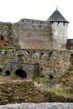Het middeleeuwse gebied van vestingsivangorod Pskov Royalty-vrije Stock Foto