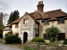 Het middeleeuwse Huis van het Dorp royalty-vrije stock foto