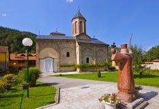 Het middeleeuwse klooster Raca - Servië Royalty-vrije Stock Foto's
