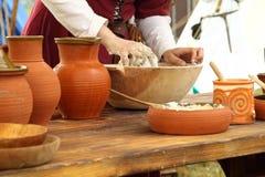 Het middeleeuwse leven Royalty-vrije Stock Afbeelding