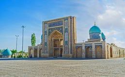 Het middeleeuwse oriëntatiepunt van Tashkent stock foto's