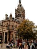 Het middeleeuwse stadhuis van Chester royalty-vrije stock afbeeldingen