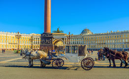 Het middeleeuwse vervoer Royalty-vrije Stock Foto's