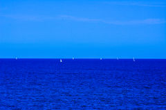 Het Middellandse-Zeegebied ziet Stock Foto