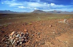 Het midden landschap van de Atlas Stock Afbeeldingen