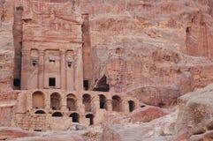 Het Midden-Oosten, Petra royalty-vrije stock foto